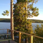 Caribou cabin at Timber Point Camp in Ontario Canada