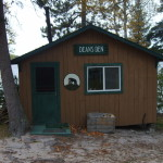 Dean's Den Cabin at Timber Point Camp in Ontario Canada
