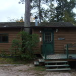Main Lodge at Timber Point Camp in Ontario Canada
